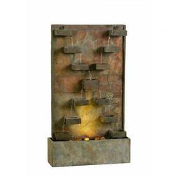 Kenroy Home 51033SL Indoor/Outdoor Floor Fountain
