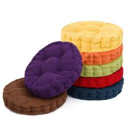 8cm Thick Corduroy Cushion Pad Seat Floor Chair Patio Home C