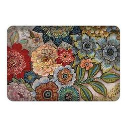 Laural Home Boho Bouquet Floor Mat