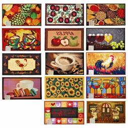 Kitchen Rugs Floor Mat Carpet Home Decor Food Prints Rectang