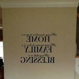 HAVING SOMEWHERE TO GO IS HOME VINYL WALL DECAL WALL TRANSFE