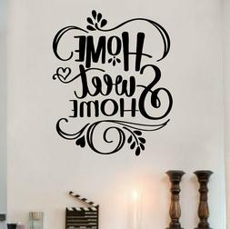 Home Sweet Home Wall Sticker - Vinyl Decal - Choose Size/Col