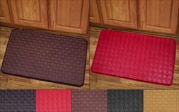 "Kitchen Floor Mat Rug 30"" x 18"" Memory Foam Anti Fatigue Pla"