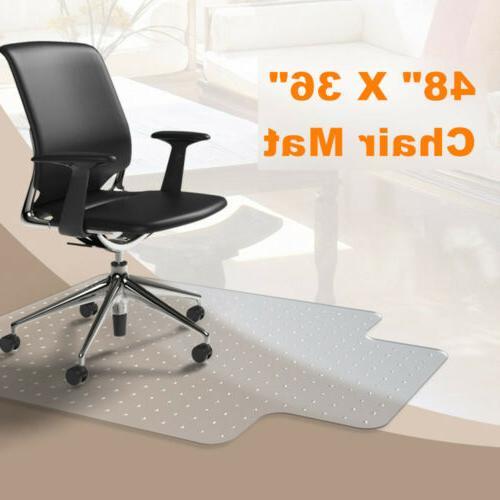 Carpet PVC Studded Rug Floor Desk for Home Office