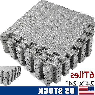exercise floor mat 24 x 24 puzzle