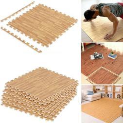 Puzzle Exercise Mat EVA Foam Interlocking Tiles Pad Home Gym