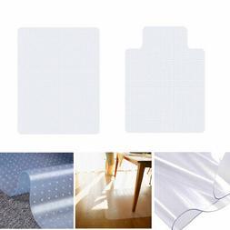 PVC Floor Mat Protector Clear Carpet Home Office Computer De