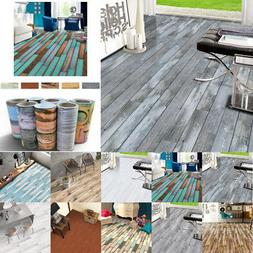 Self Adhesive Tile Floor Wall Sticker Paper DIY Home Kitchen