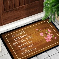 Staying at Home Entrance Doormat Non Slip Rubber Home Floor