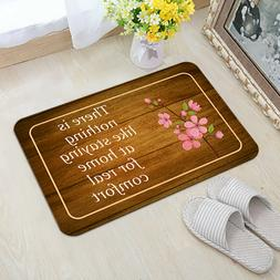 Staying At Home Quotes Indoor Floor Mats Non Slip Rug Entran